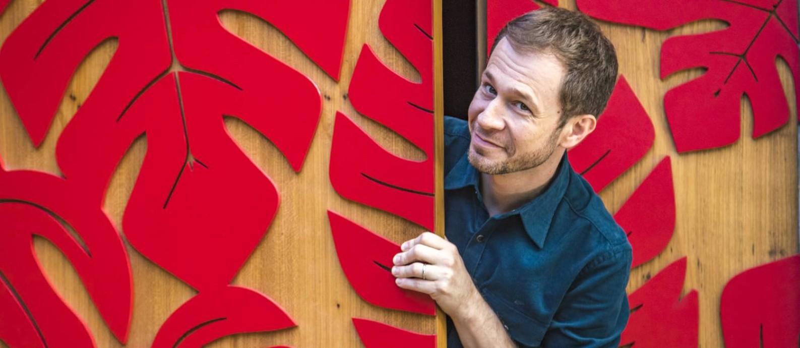 Tiago Leifert Foto: Divulgação/TV Globo/Paulo Belote