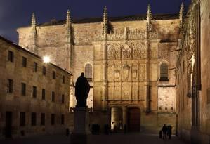Universidade de Salamanca, Espanha Foto: Manuel Cohen