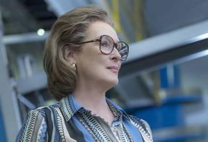 Meryl Streep em 'The Post' Foto: Divulgação
