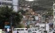 Morro do Borel, Tijuca Foto: Fabiano Rocha/O GLOBO
