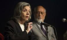 Ministra do Supremo Tribunal Federal Carmen Lucia na ABL Foto: Guito Moreto / Agência O Globo