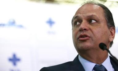 O ministro da Saúde, Ricardo Barros Foto: Jorge William / Agência O Globo