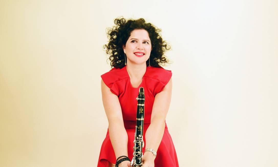 A clarinetista israelense Anat Cohen, indicada ao Grammy Foto: Shervin Lainez / Divulgação