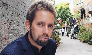 Peter Dahlin acabou desaparecido forçadamente pela China Foto: Reprodução