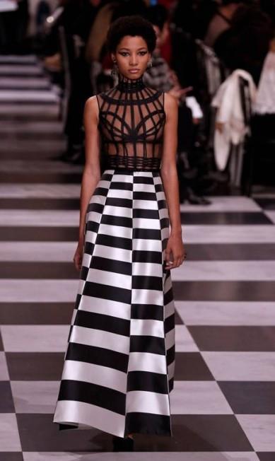 Dior alta-costura primavera-verão 2018 FRANCOIS GUILLOT / AFP