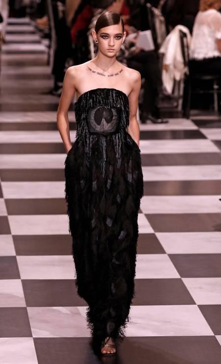 Dior alta-costura primavera-verão 2018 Foto: FRANCOIS GUILLOT / AFP