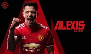 Alexis Sánchez é do Manchester United Foto: Reprodução