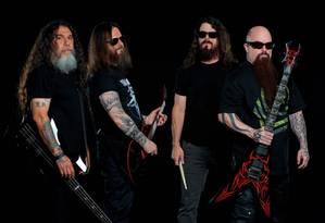 O grupo americano Slayer vai pendurar as chuteiras Foto: Divulgação