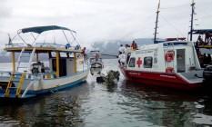 Avião com o ministro do supremo Teori Zavascki cai no mar próximo a Paraty (RJ). Foto: Douglas Prado / Agência O Globo