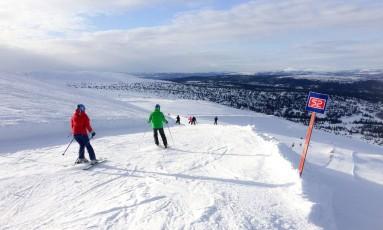 Trysil: destino na Noruega é para quem quer temperaturas baixíssimas Foto: Divulgação