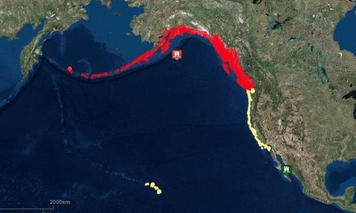 Resultado de imagem para Terremoto atinge o Alasca