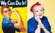 Naomi Fraley foi musa inspiradora de cartaz icônico Foto: Reprodução/People