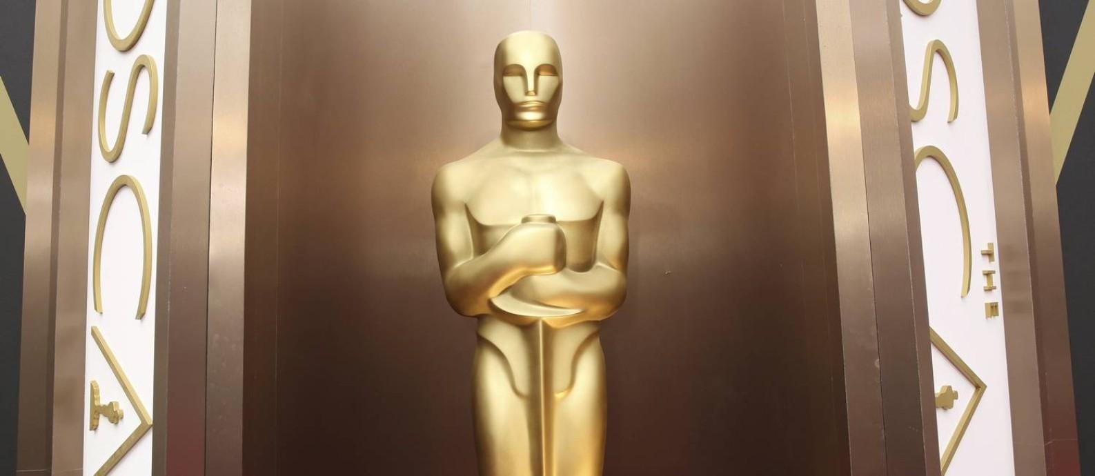 A estátua do Oscar Foto: Matt Sayles / AP