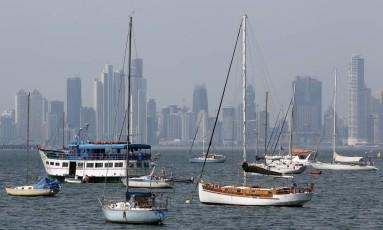 Cidade do Panamá. Foto : Hans von Manteuffel/Agência O Globo