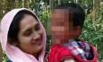Salma Parbin foi a primeira a desconfiar da troca de bebês na maternidade Foto: ARQUIVO PESSOAL