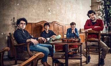Vision String Quartet, atração da edição 2018 do festival RC4 Foto: Divulgação