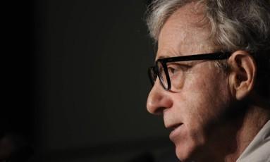 Woody Allen recebeu homenagem em Oviedo, Espanha, em 2003 Foto: Anne-Christine Poujoulat / AFP