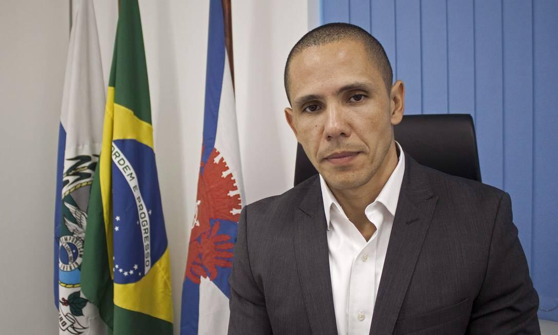 Secretário de Conservação Marcus Belchior Foto: Divulgação / Reprodução
