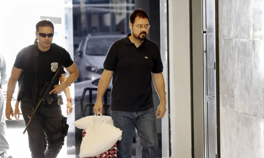 O ex-secretario de Obras da Prefeitura do Rio, Alexandre Pinto Foto: Gabriel Paiva / Agência O Globo