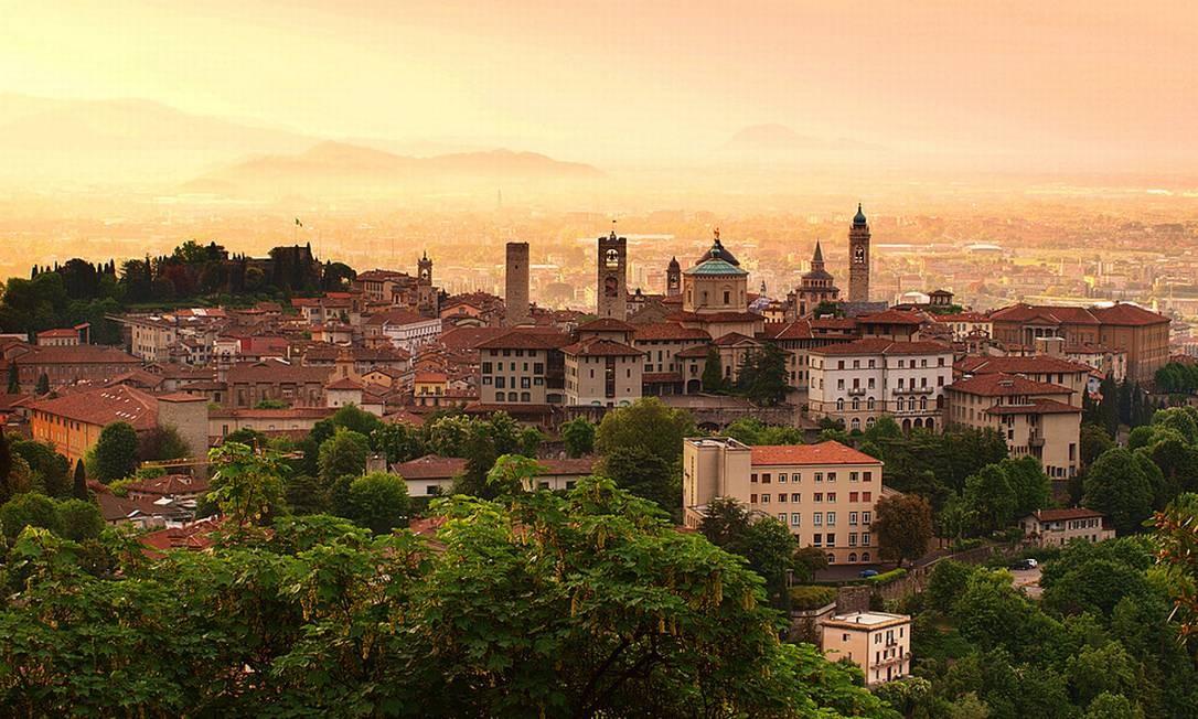 """A cidade de Bérgamo, em Lombardia, norte da Itália, onde foram filmadas cenas do filme """"Me chame pelo seu nome"""", dirigido por Luca Guadagnino. O roteiro é baseado na obra homônima de André Aciman Foto: Creative Commons"""