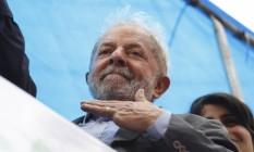 O ex-presidente Lula durante ato em Porto Alegre na terça-feira Foto: Terceiro / Paulo Lisboa/Brazil Photo Press