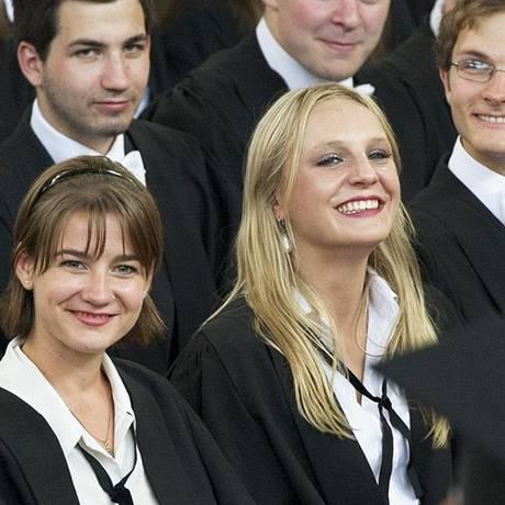 Provas de matemática e ciências tiveram 15 minutos a mais no último exame admissional Foto: UNIVERSIDADE DE OXFORD
