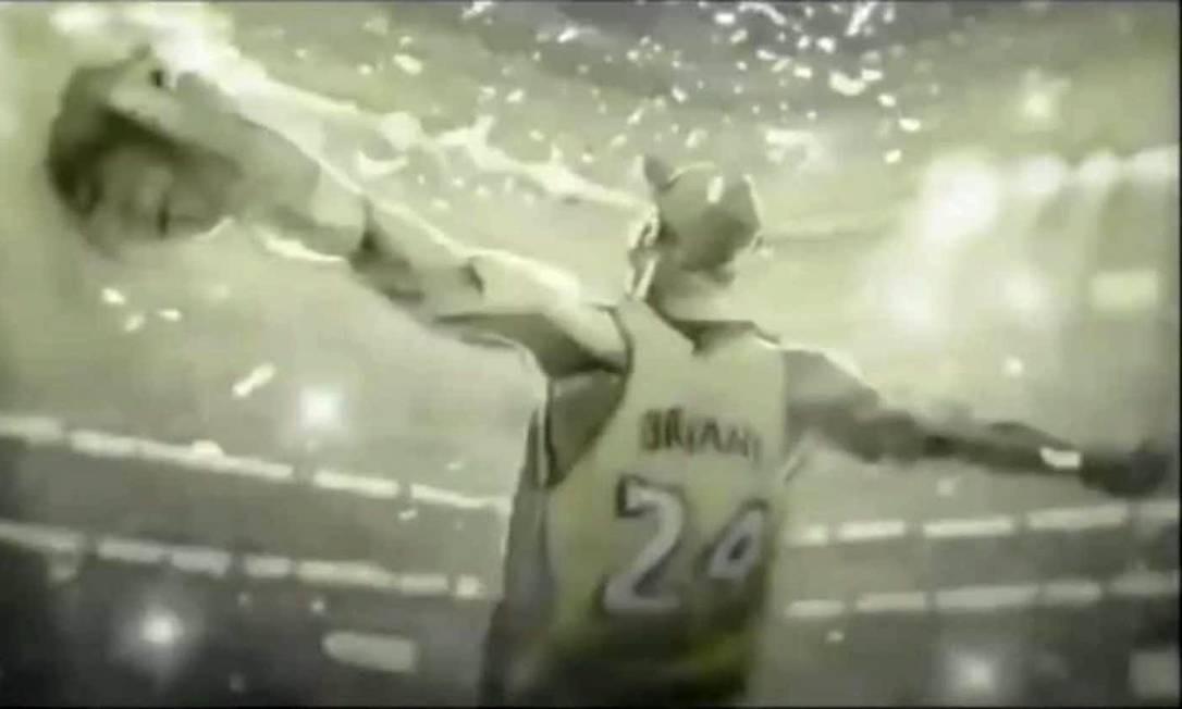 Cena de 'Dear Basketball', filme de Glen Keane, Kobe Bryant e Gennie Rim indicado ao Oscar de melhor curta-metragem de animação Foto: Gunpowder & Sky / Divulgação