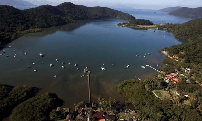 A Costa Verde é um dos destinos turísticos mais procurados no mundo. Na região se destaca a Ilha Grande, que tem no Saco do Céu (foto) uma de suas atrações mais famosas Foto: Custodio Coimbra / Agência O Globo