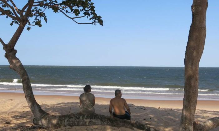 Praia Grande (Salvaterra), na Ilha de Marajó, no Pará Agência Foto: Lucas Altino / Agência O Globo