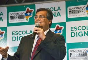 O governador do Maranhão, Flávio Dino Foto: Divulgação 25/05/2015