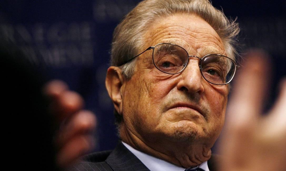 George Soros critica Facebook e Google em DAvos Foto: Reprodução