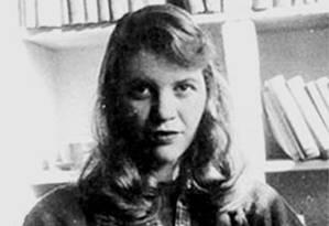 A poeta Sylvia Plath Foto: Reprodução