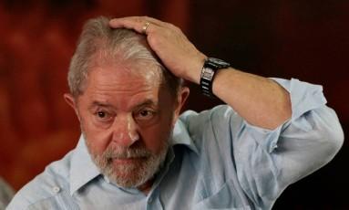 O ex-presidente Luiz Inácio Lula da Silva Foto: STRINGER / REUTERS 25/01/2018