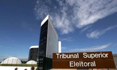 A fachada do Tribunal Superior Eleitoral Foto: Roberto Jayme / TSE / Divulgação