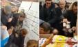 Oferta em potes de Nutella gerou tumulto em supermercados na França Foto: Reprodução/Redes sociais