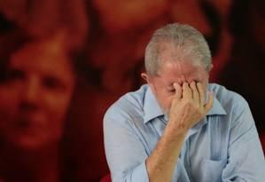 O ex-presidente Luiz Inácio Lula da Silva Foto: STRINGER / REUTERS