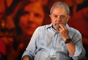 Lula teve passaporte retido e não foi ao encontro da ONU na Eiópia Foto: NELSON ALMEIDA / AFP