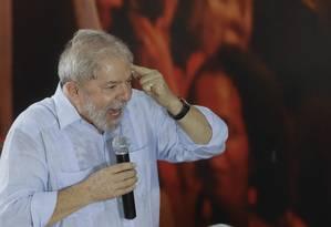 Lula tem cerca de 53 milhões de eleitores Foto: Andre Penner / AP
