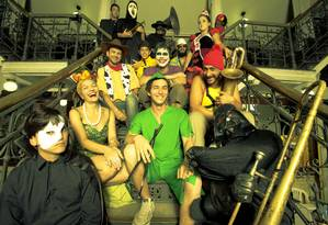 Cinebloco vai se apresentar no Sesi Jacarepaguá sexta-feira Foto: Divulgação / Lucio Luna