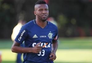 Rafael Vaz, zagueiro do Flamengo Foto: Gilvan de Souza/Divulgação
