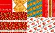Embalagens dos Biscoitos Piraquê com design da artista plástica Lygia Pape Foto: Reprodução