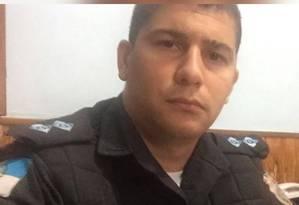 O tenente Barros tinha 30 anos Foto: Reprodução