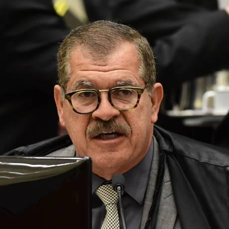 O ministro Humberto Martins, durante sessão do Superior Tribunal de Justiça Foto: Gustavo Lima/STJ/19-12-2017
