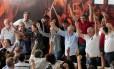 Ex-presidente Lula anunciou candidatura à Presidência