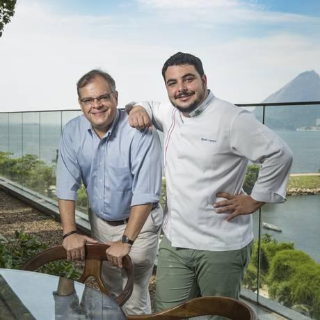 O empresário Marcelo Torres e o chef Ricardo Lapeyre voltam a trabalhar juntos e inauguram novas casas Foto: Ana Branco / Agência O Globo