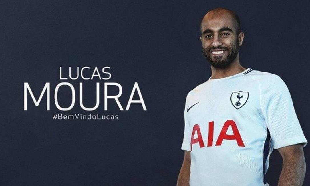 Tottenham anuncia a contratação do brasileiro Lucas Moura - Jornal O ... 1b3dbefdc07e8