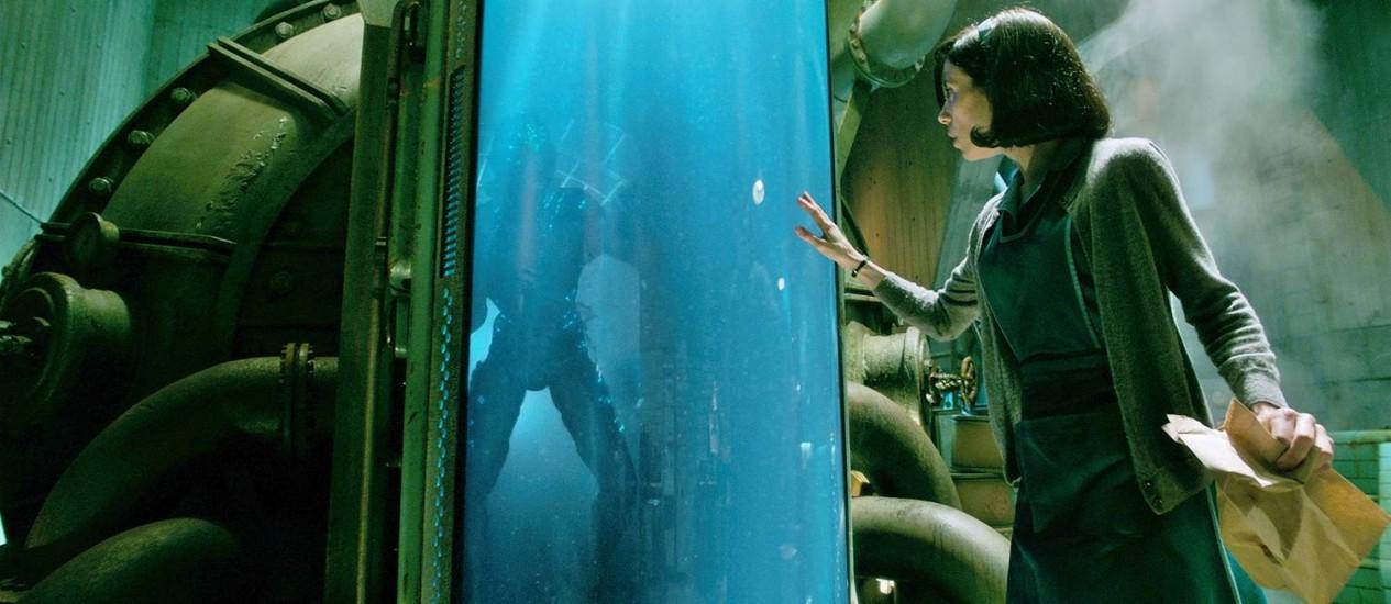 Cena de 'A forma da água', de Guillermo del Toro Foto: Divulgação / Agência O Globo