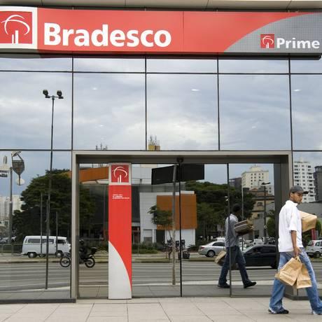Agência do Bradesco em São Paulo. Paulo Fridman/Reuters