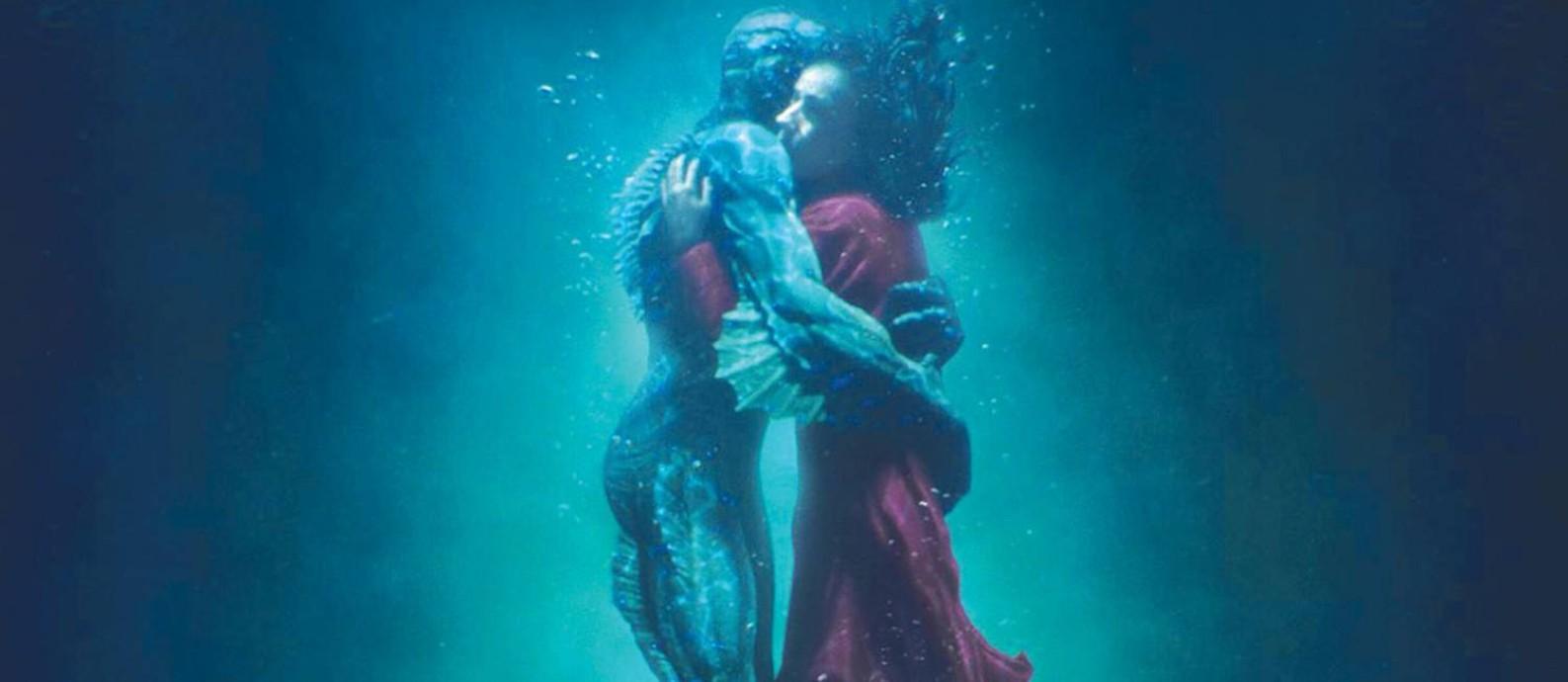 'A forma da água', campeão de indicações ao Oscar, entra em cartaz Foto: Divulgação