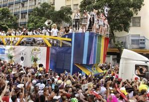 Foliões seguem o Cordão: visitação pode ser feita até 3 de março Foto: Marcio RM / divulgação/SFF